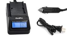 DuraPro LP-E6 LPE6 Carregador Rápido LCD Digital Substituir Carregador Para Canon LP-E6, LC-E6 EOS 60D, EOS 70D, EOS 5D II Carregador de Bateria
