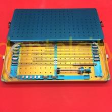 Лучший жира канюли комплект коробки стволовых клеток липосакции жир передачи липосакция металлическая коробка