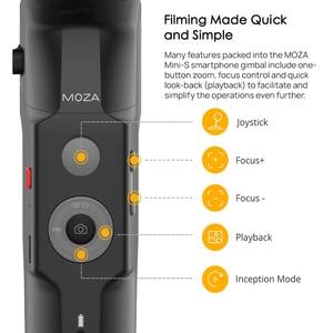 Image 4 - Original MOZA Capture 3 Axis Handheld Gimbal Stabilizer For Smartphone mobile phone iphone GoPro Sjcam EKEN Yi Action camera