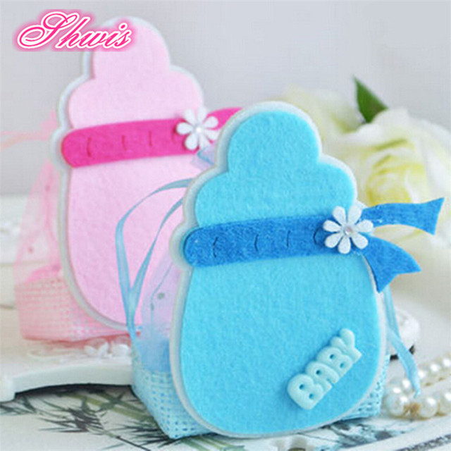 100pcs Candy Favor Box For Baby Shower Baby Birthday Gifts Party Supply  Candy Box Souvenirs For
