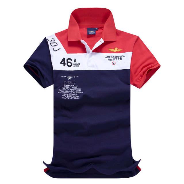 placeholder 2016 Roupas de Marca Camisas Masculinas Calvin Australiano  Todos Camisetas de Algodão Dos Homens AERONAUTICA MILITARE 93c274f3250
