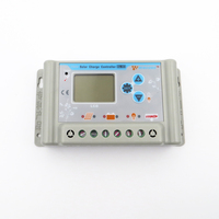 1pc x 30A 12V 24V wincong sl03 30a solar Home system Controllers LCD regulator with USB 5V