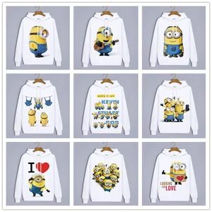 Image 1 - Winter Hoodies Anime Minions Harajuku schöne liebhaber Kleidung Unisex Erwachsene Lässige Kleidung Sweatshirt Hoodie Tops