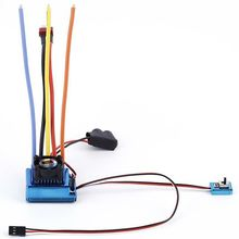 120A SL Brushless/brushed Speed Controller ESC for 1/12 1/16 1/18 1/10 1/8 RC Car Truck Racing Car цена 2017