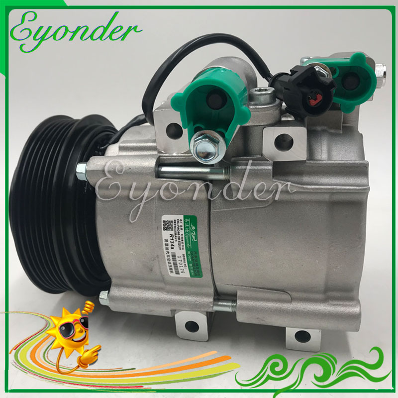 Auto A C AC Air Conditioning Compressor Cooling Pump Pulley PV6 HCC HS18 for FORD ESCAPE