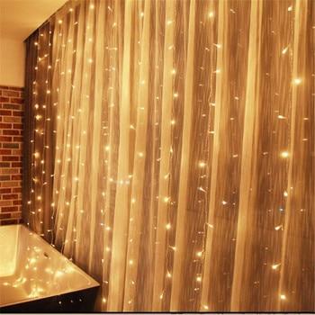Weiße Weihnachtslichter   6m X 3m 600 LED Eiszapfen String Lichter Weihnachten Weihnachten Fee Lichter Outdoor Home Für Hochzeit/Party /vorhang/Garten Dekoration