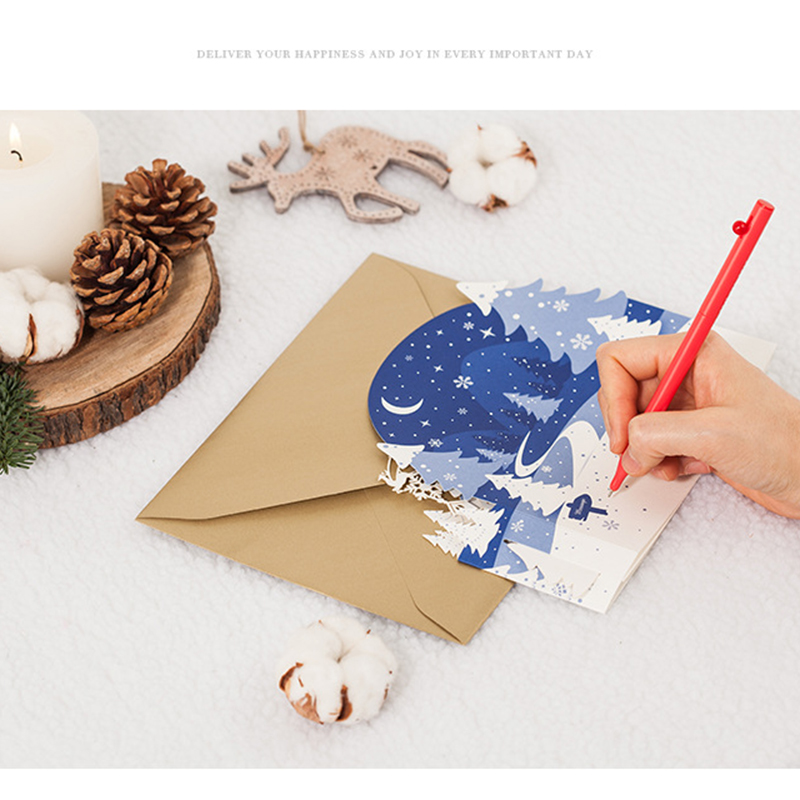 1 Set Christmas Invitations Card for Christmas Invitations Wedding Birthday Novelty Fashion Greeting Invitation Card 30pcs in one postcard take a walk on the go dubai arab emirates christmas postcards greeting birthday message cards 10 2x14 2cm