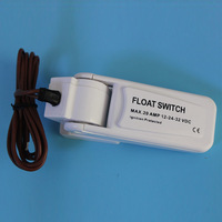 12V Maine Boat Bilge Pump Water Level Controller Automatic Electric Water Pump Float Switch DC Float