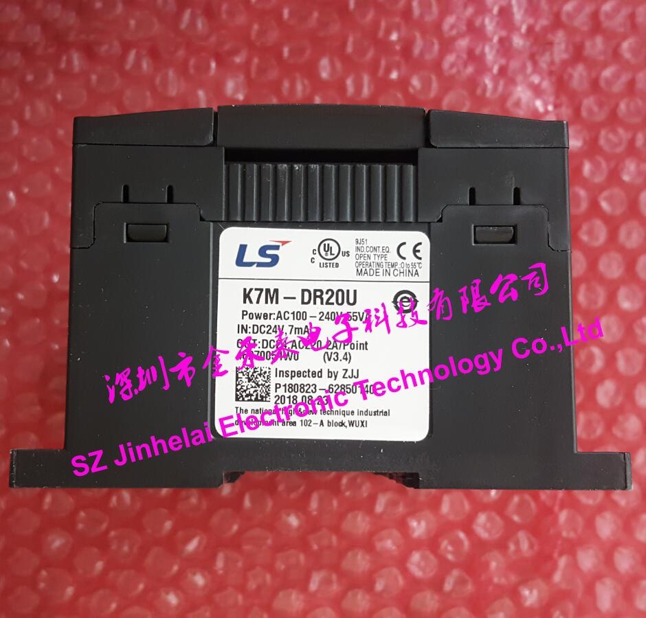 100% New and original K7M-DR20U LS(LG) Plc controller k7m dr20ue ls lg 100
