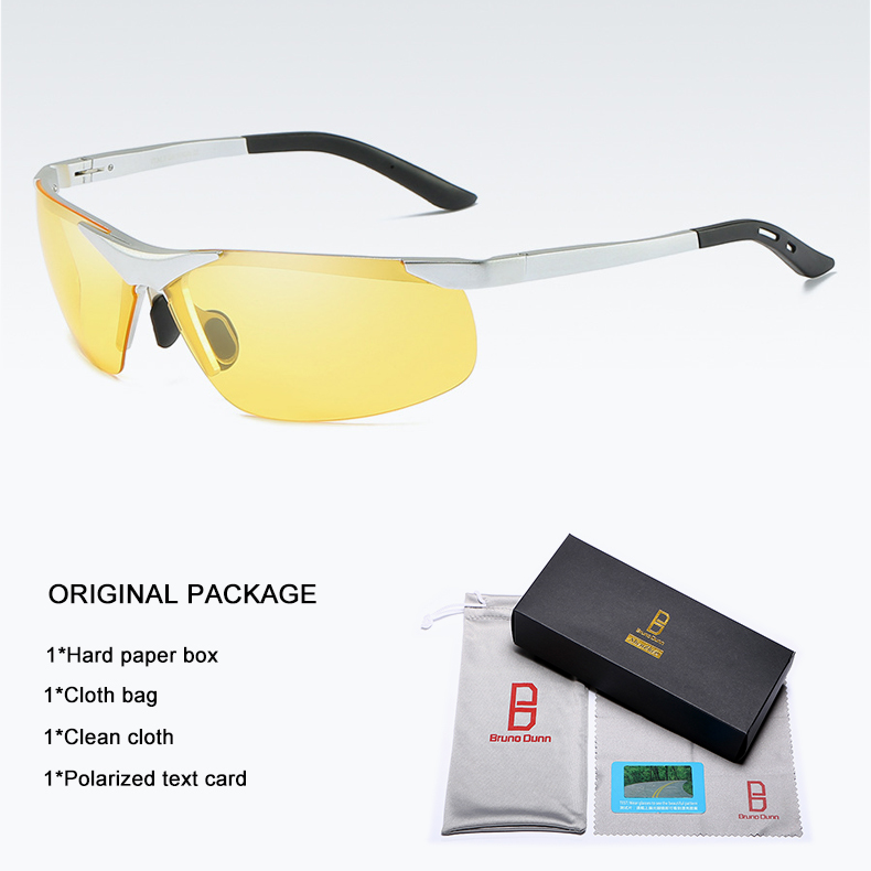 Bruno dunn 2020 Men Sunglasses Polarized uv400 high quality oculos de sol masculino oversized sunglases lunette soleil homme 11