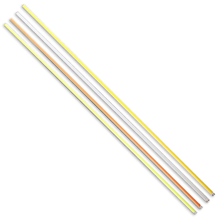 10 pcs/Lot 600*6mm lumière LED COB Bar lampe DC12V-14V Source de lumière pour voiture bricolage Tube extérieur intérieur diode LED lampe JQ