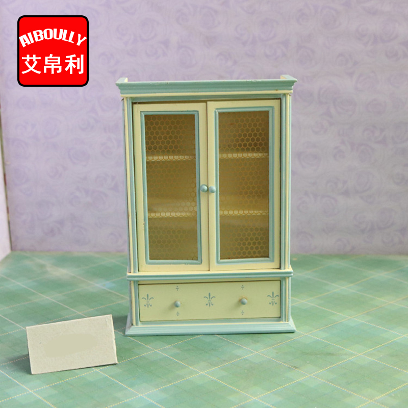 Fabulous Us 12 29 1 12 Scale Dollhouse Furniture Wooden Miniature Bookshelf Display Cabinet Cupboard Dollhouse Accessories For Children In Doll Houses From Download Free Architecture Designs Scobabritishbridgeorg