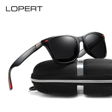 LOPERT BRAND DESIGN Unisex Classic Polarized Sunglasses Men Driving Square Frame Women Sun Glasses Male For men UV400 De Sol