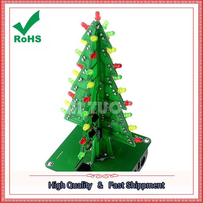 Electronic Practice Parts Flash Kit Flashing Christmas Tree Parts Elect