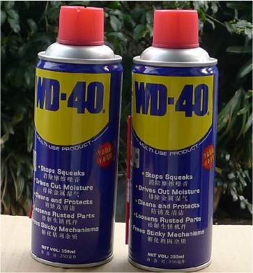 Wd 40 Rust Remover >> Us 54 0 Authentic Wd40 Rust Lubricant Wd 40 Universal Anti Rust Lubricant Rust Remover Water Scavenger 350ml Store In Bags Luggage From