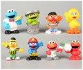 Figuras Oscar e Elmo Sesame Street Bert e ernie, Oficialmente licenciado 8-pack