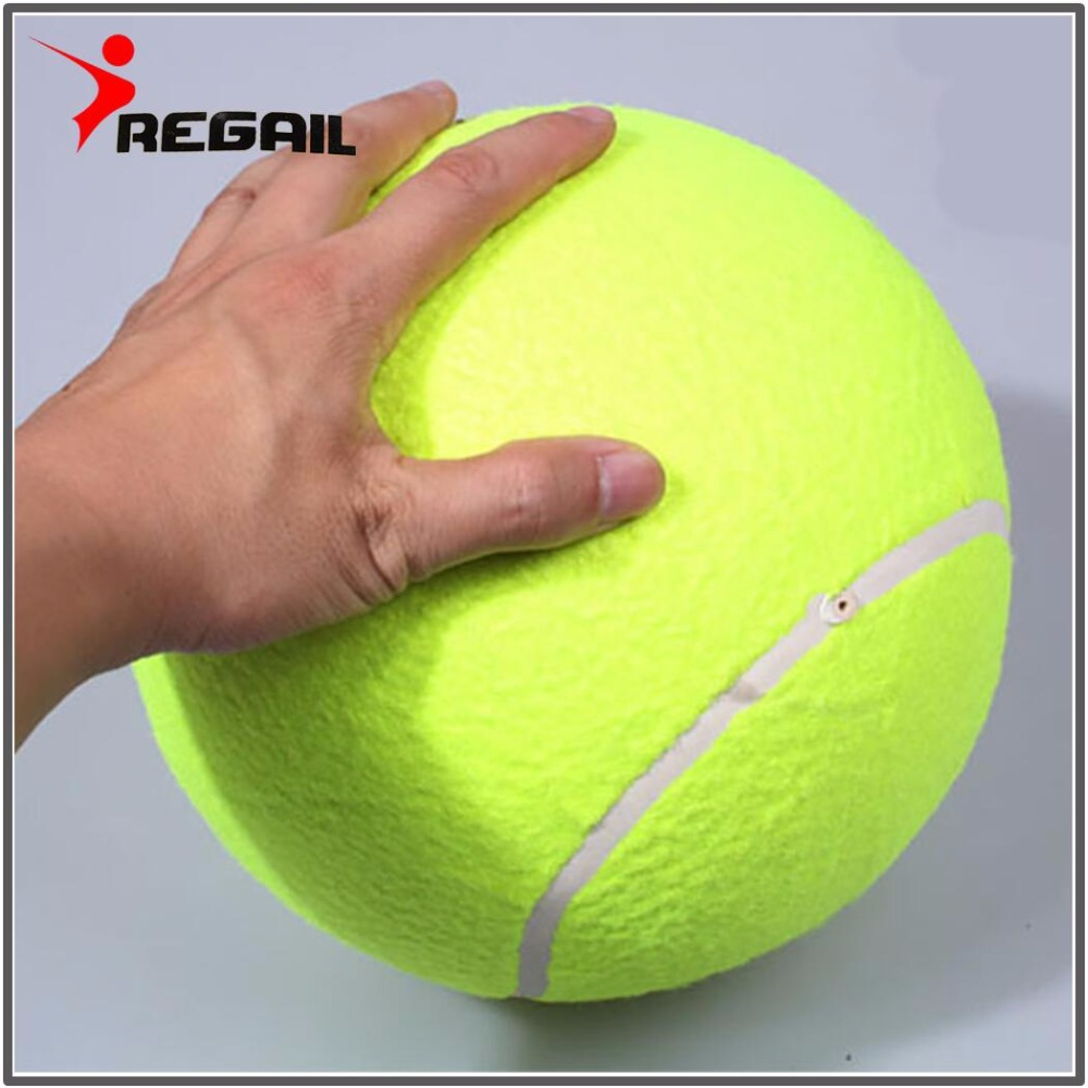 1 Pcs Funny Tennis Ball For Children Play Pet Toy With Free Air Pump