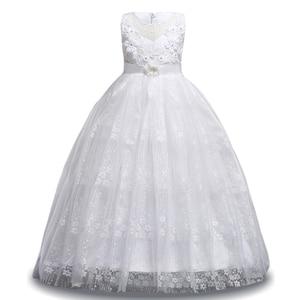 Image 5 - Kızlar yaz 7 8 9 10 11 12 yıl düğün çiçek kız elbise kızlar için prenses elbise çocuklar parti elbiseler çocuk kostüm giysi