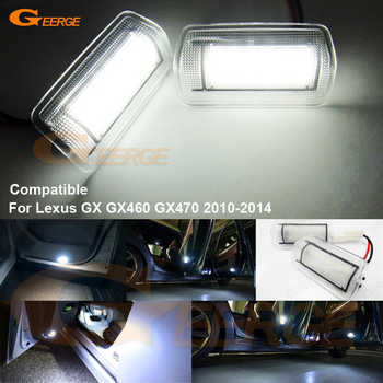 For Lexus GX GX460 GX470 2010 2011 2012 2013 2014 Excellent Ultra bright 3528 LED Courtesy Door Light Bulb No OBC error - DISCOUNT ITEM  17% OFF Automobiles & Motorcycles