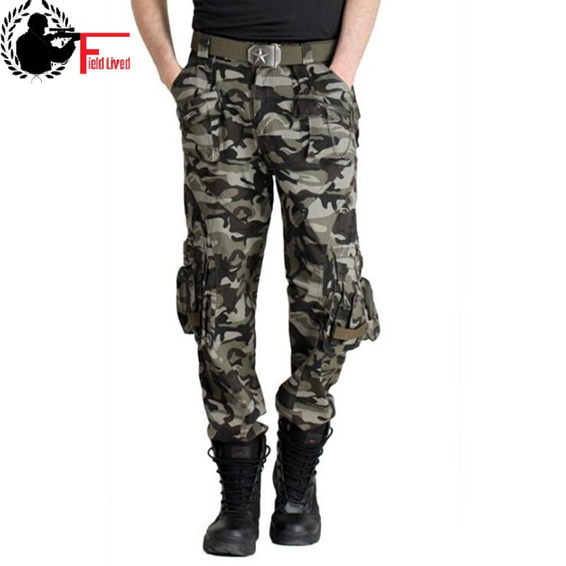 Millitary Style Men Pants Army Clothing Tactical Camo