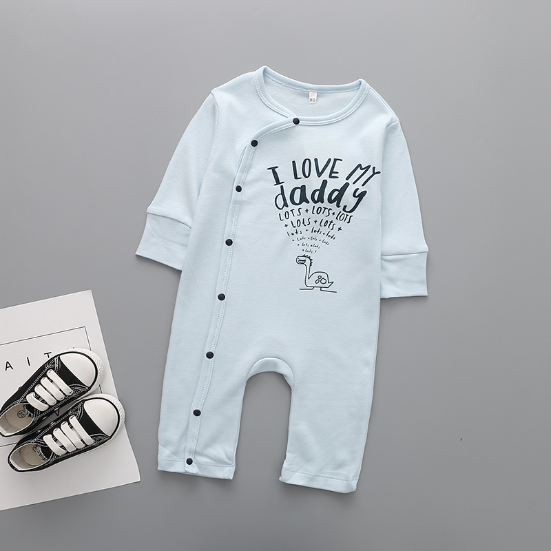 Long Sleeve Baby boy Clothing I Love My Doy Novelty Clothes