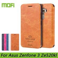 Для Asus Zenfone 3 ZE520KL Дело MOFI искусственная кожа телефон чехлы для Asus Zenfone 3 ZE520KL Стенд крышку с карты Держатель