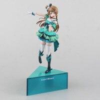 Love Live Kotori Minami Birthday Project Anime School Idol Project Alter Snow Man 25CM PVC Action Figures Toys Doll Gift
