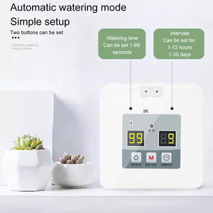 Image 2 - DIY Micro Automatic Drip Irrigation System 5~10 Pots Self Water Indoor Sprinkler USB Charging Garden Watering System