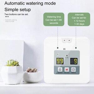 Image 2 - DIY Micro Automatische Tropf Bewässerung System 5 ~ 10 Töpfe Selbst Wasser Innen Sprinkler USB Lade Garten Bewässerung System