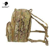 Flatpack D3 Taktische Rucksack Hydratation Träger Molle tasche Airsoft Military Getriebe Mehrzweck Assault Rucksack Für Brust Rig