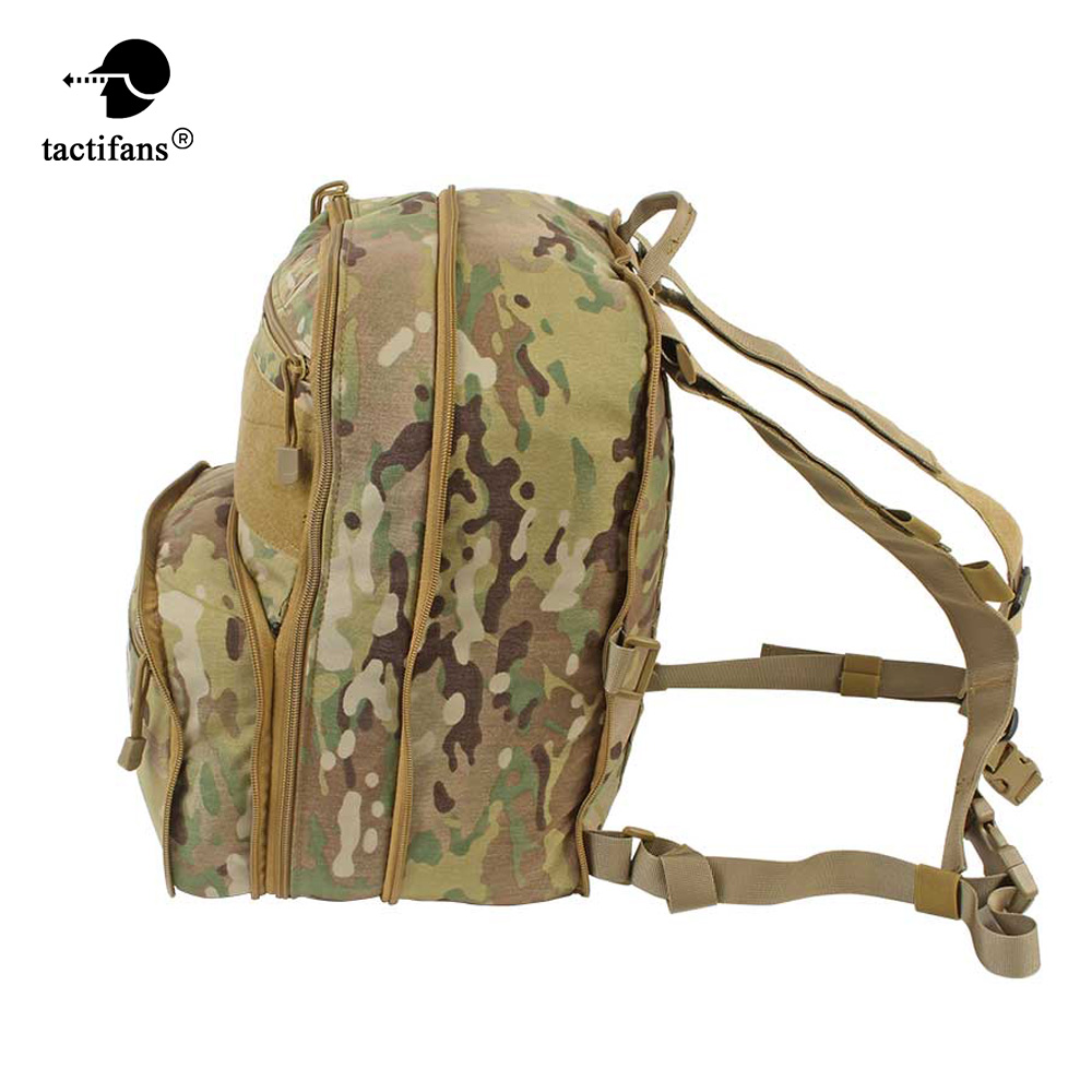 Flatpack D3 Tactical Backpack Hydration Carrier Molle Pouch Airsoft Military Gear Multipurpose Assault Backpack For Chest Rig-in Hunting Bags from Sports & Entertainment    1