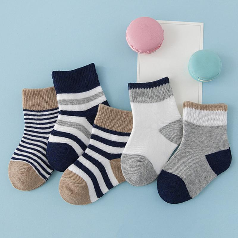 KUI901-KUI906 Autumn Unisex Baby Boy Socks Children Sock Cotton