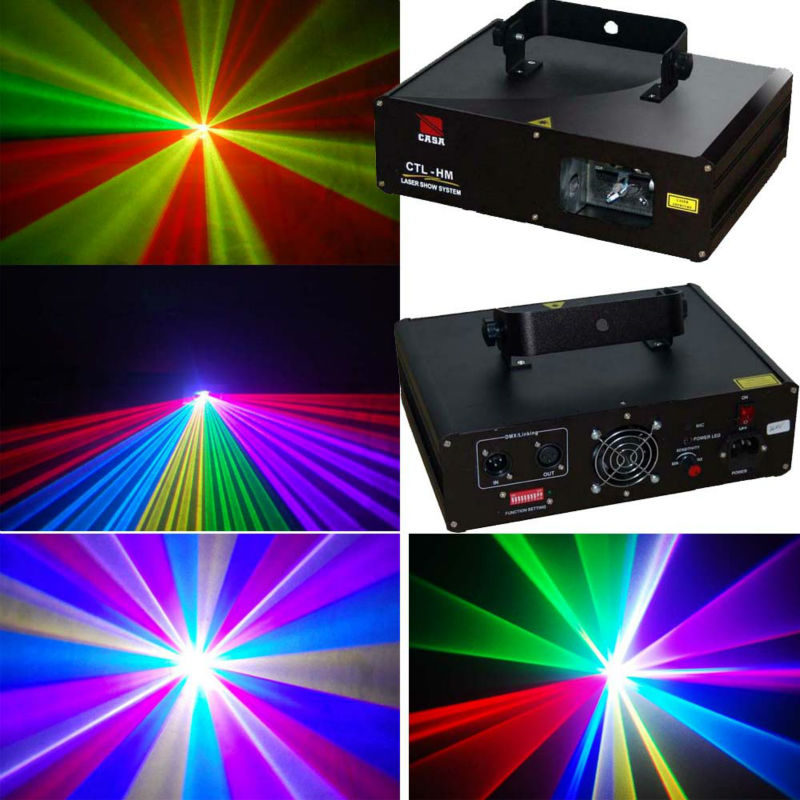 600mW Red Green Blue Disco Stage Light Laser Lighting Dj Equipment