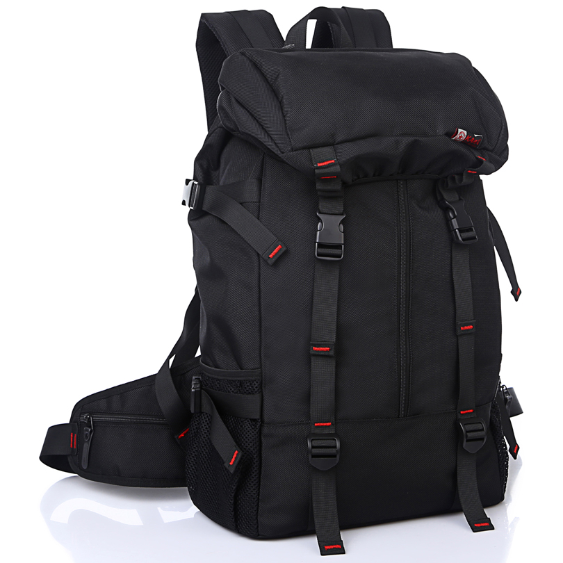 Men 's Backpack Large Capacity 50L Luggage High Quality Male Bag Travel Laptop Backpack for Men Waterproof Nylon Luggage mco men s vintage canvas backpack school luggage shoulder bag computer functional hand bag large capacity travel laptop backpack