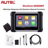 Autel MaxiCOM MK808 BT Wireless Car Diagnostic Tool OBD2 Scanner Diagnosis Functions of EPB/IMMO/DPF/SAS/TMPS same as MX808