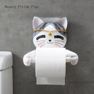 Creative cartoon animal cat ba