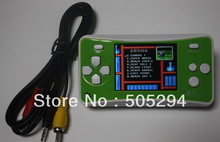 """FedEx Free Shipping! Lot of 10 pcs, 2.5"""" Handheld Game Console w/ Speaker / Built-in 162 Games - Green + White (512M / 3 x AAA)"""