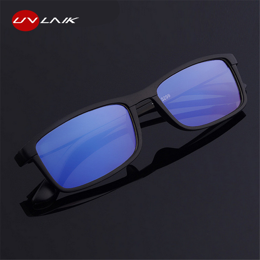 UVLAIK TR90 Ultralight Antifatigue Reading <font><b>Glasses</b></font> Men Women Mirror Anti-Blu-Ray Radiation Comfortable Presbyopia +<font><b>1.0</b></font> +4.0 image