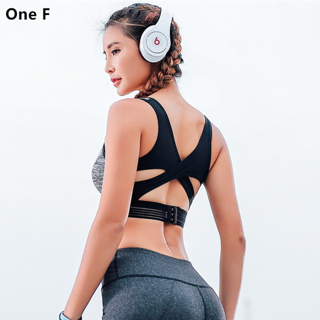 a0f7893838 Women s Angle Max X-Back Sports Bra Hook-and-eye Closure Back Underwear  High Impact Workout Yoga Tops Bra Fitness Clothing 2018