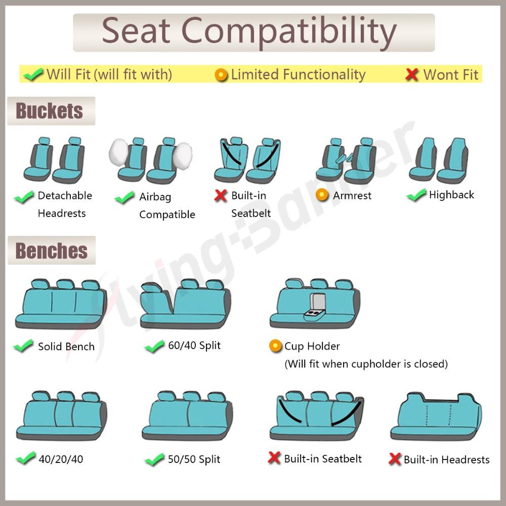 Tela de terciopelo moteado cubierta de asiento de coche Universal - Accesorios de interior de coche - foto 6