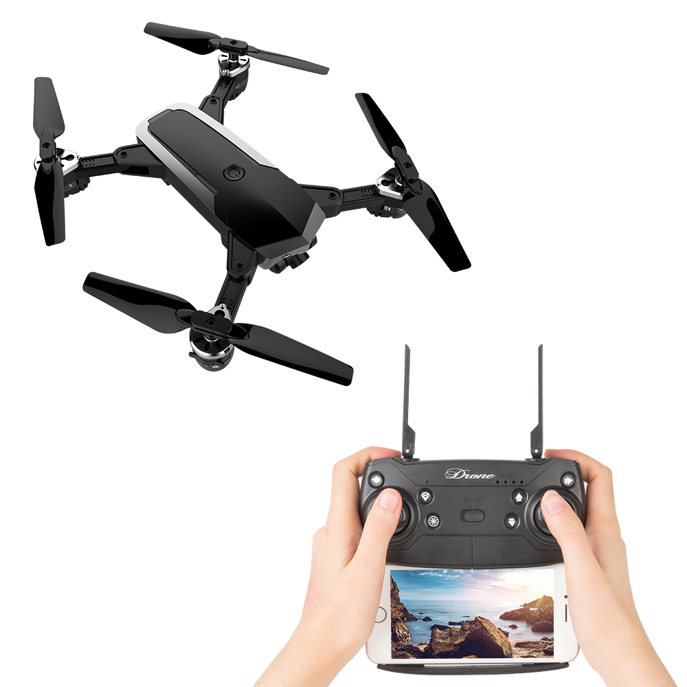 RC Quadcopter Foldable Drone WIFI FPV 2MP HD Camera JD-20S Multicopter RTF Drone Helicopter Mobile Control 360 Flip eboyu 2 4ghz 4ch transmitter for jd 18tx jd 18 jy018 rc quadcopter foldable drone phone clip