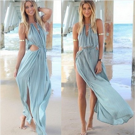 Aliexpress.com : Buy Long Maxi Beach Dress 2015 Women Summer Dress ...