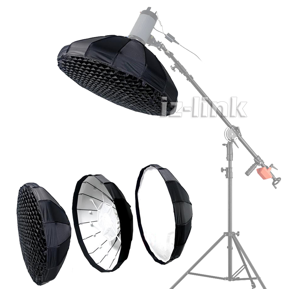 """16 Rod Octagon Grid: Pro Diameter 39.3"""" 100cm Big Softbox With 16 Rods Grid For"""