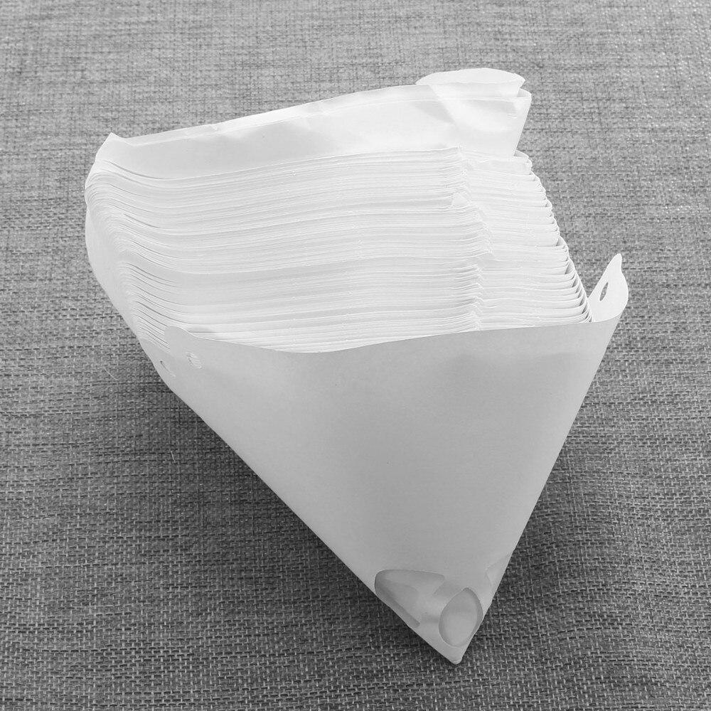 50pcs Paint Filter Paper Funnel Car Paint Spray Paint Filter Disposable Filter Paper