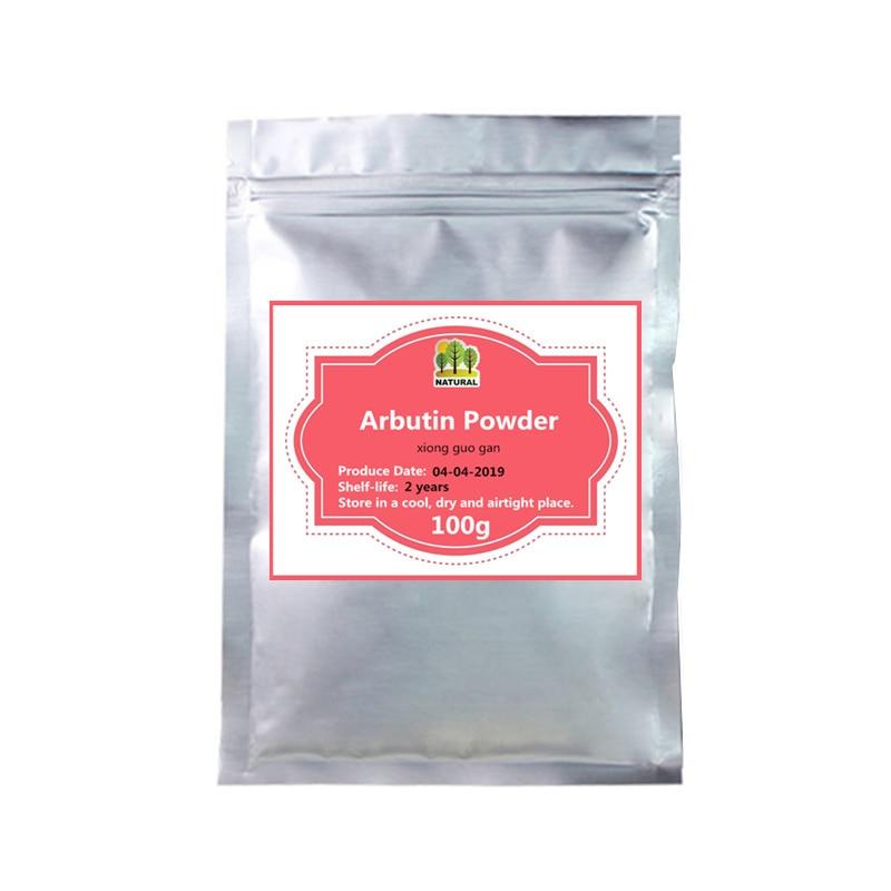 50-1000g,Strong Skin Whitening 99% Alpha Arbutin Powder,Xiong Guo Gan,Skin Lightening,Delay Aging,Treatment Of Freckles,chloasma