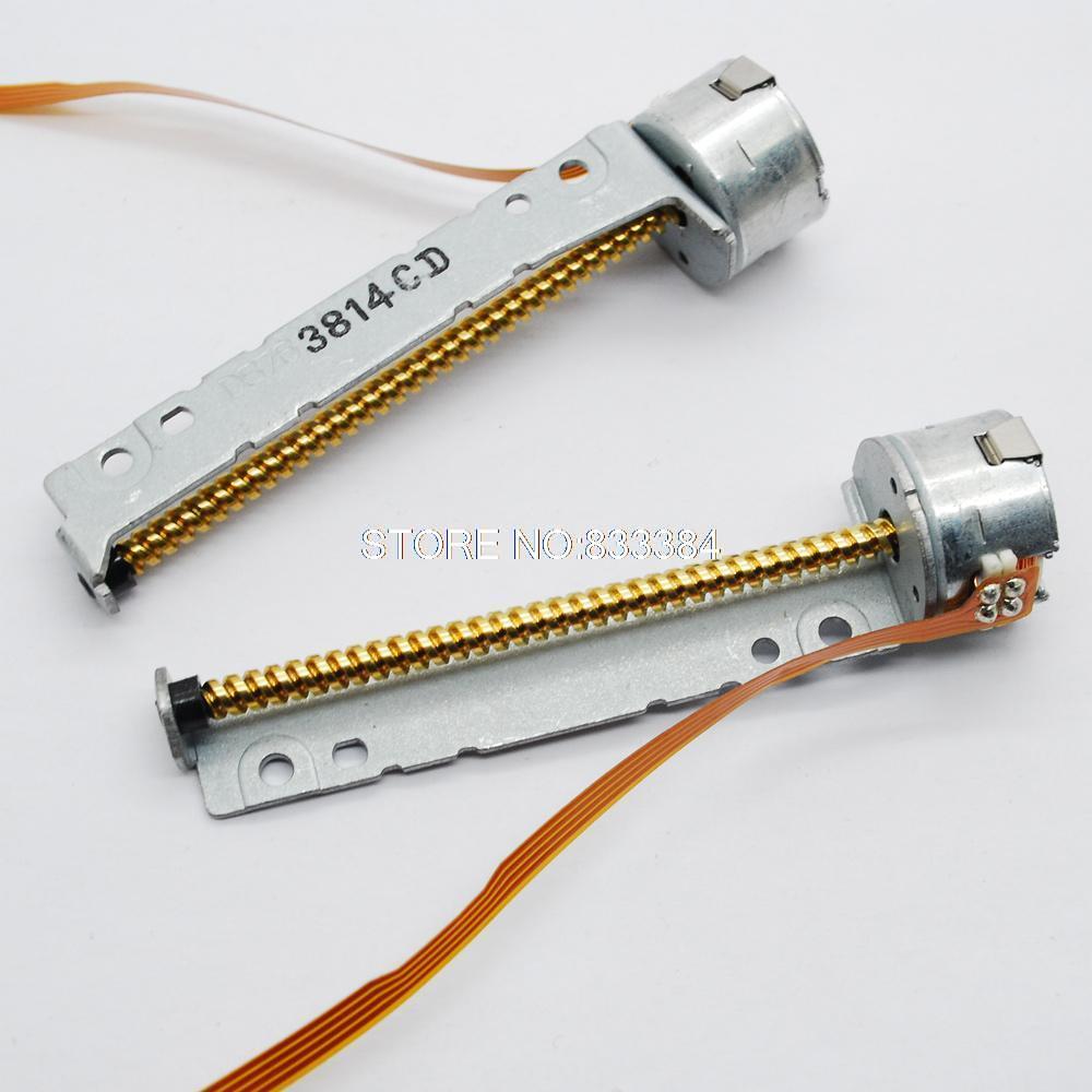 5 шт. Высокоточный гибридный 2 фазы 4 провода мини-шаговый двигатель dia15MM с 52 мм винтовой стержень