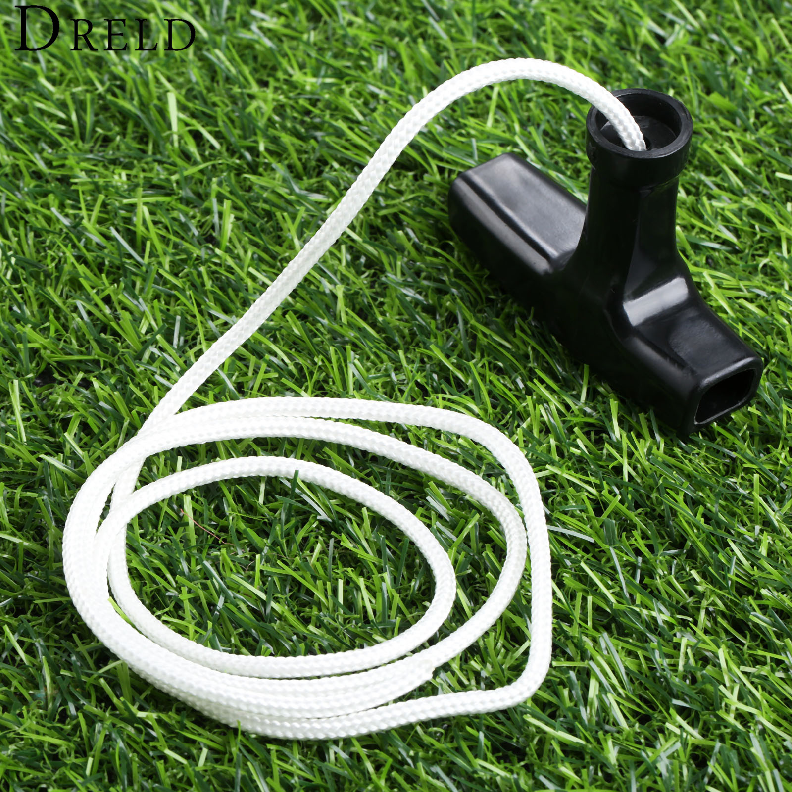 DRELD Starter Pull Handle With Cord Line Rope Mower For Engine Petrol Starter Lawnmowers Garden Tool Parts