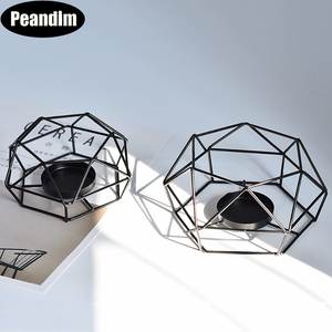 Peandim Candle Holders Metal Candlestick Home Decor