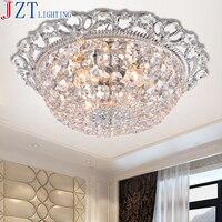 М Лучшая цена Европейский Стиль dia95/78/50 см E14 * 27bulbs Гостиная кристалл потолочный светильник Роскошные LED круговой подвесной светильник