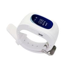 free shipping 0.96 oled lbs/gps location Q50 kids gps tracker watch